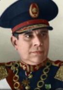 Portrait Paraguay Higinio Morínigo