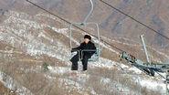 Kim en la montaña