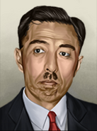 Portrait Japan Fumimaro Konoe
