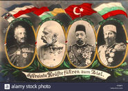 Central powers leaders
