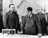 Is Partis burning Hitler with Jodl