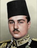 Portrait Kaiserreich Farouk i