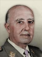Portrait Iberia Francisco Franco