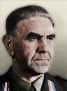 Portrait Croatia Ante Pavelic