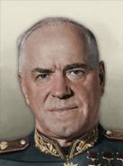 Portrait UKH Georgy Zhukov