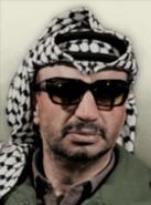 Portrait Yasser Arafat HOI IV