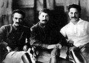 Ordzhonikidze, Stalin and Mikoyan, 1925