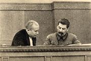 Joseph stalin and nikita khrushchev 1936