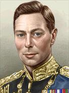 Portrait Britain George VI