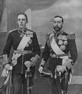 Alfonso XIII and George V