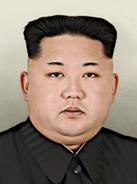 Portrait PRK Kim Jong Un