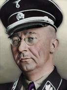 Portrait Burgundy Heinrich Himmler