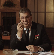 Brezhnev pelicula Checa