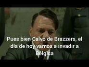 Hitler intenta invadir Bélgica (Parodia)