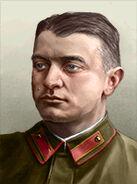Portrait Soviet Mikhail Tukhachevsky