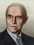 Portrait Romania Constantin Parhon