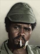Portrait Kanem Hissene Habre