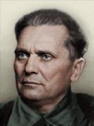 Portrait Yugoslavia Josip Broz Tito