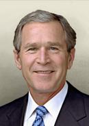Portrait George Bush