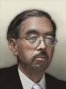 Portrait Japan Hirohito