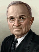 Portrait USA Harry Truman