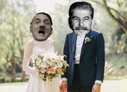 Hitler Casado con Stalin