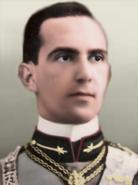 Portrait Kaiserreich Umberto II of Italy