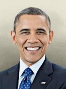 Portrait USA Brack Obama