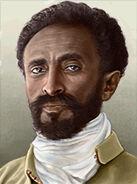 Portrait Ethiopia Haile Selassie