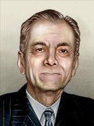 Portrait Philippines Manuel Luis Quezon