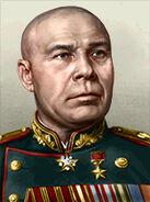 Portrait Soviet Semyon Timoshenko