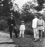 -Emperor Taisho's sons 1921