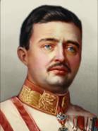 Portrait Kaiserrreich Carl I