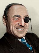 Portrait Romania Armand Calinescu