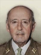 Portrait Iberia Francisco Franco 70s
