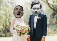 Hitler casado con Carol II