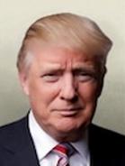 Portrait USA Donald Trump