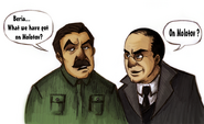 Stalin and beria by chater-d41ewjj