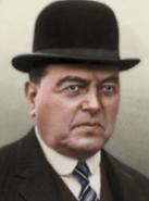 Portrait Argentina Hipólito Yrigoyen