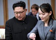 Kim jong y su hermana960x0