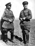 Khalkhin Gol George Zhukov and Khorloogiin Choibalsan 1939 - 2