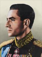 Portrait Persia Mohammad Reza Pahlavi