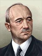 Portrait Czech Edvard Benes