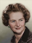 Portrait Britain Margaret Thatcher