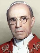 Portrait Papal State PiusXII