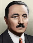 Portrait Poland Boleslaw Bierut
