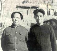Mao Zedong and Mao Anying