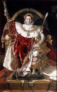 800px-Ingres, Napoleon on his Imperial throne