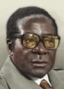 Portrait Robertt Mugabe