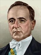 Portrait Brazil Getulio Vargas